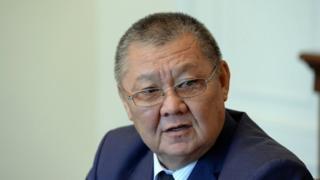 Кыргызстан элдеринин ассамблеясынын төрагасы Токон Мамытов