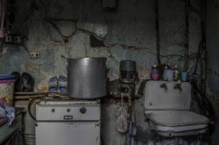 Ayakkabı tamircisi Hovhannes'in mutfağı