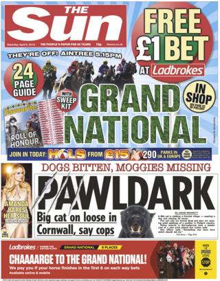 The Sun front page, 6/4/19