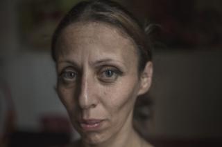 Ia Ochiauri, de 42 años, madre de dos hijos.