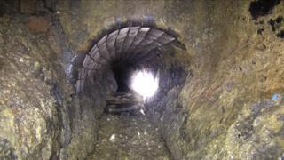 Fatberg in sewer under HMP Manchester