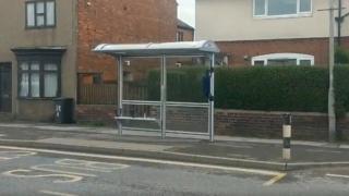 Unused bus stop