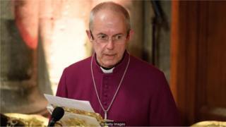 reverendo Justin Welby