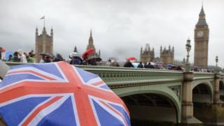 Hujan di London