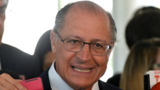 O ex-governador de São Paulo Geraldo Alckmin