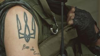 татуювання на плечі українського військового