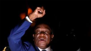 Mnangagwa, le crocodile, président zimbabwe, prestation serment,