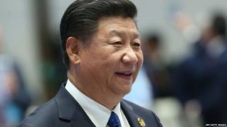 चीनचे राष्ट्राध्यक्ष शी जिनपिंग