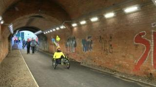 Napier Road tunnel in Reading