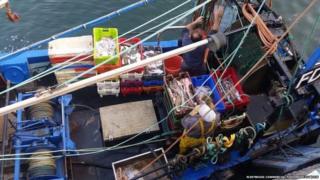 Fleetwood fishing vessel