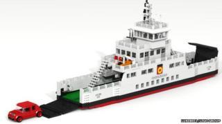 MV Loch Shira Lego set idea