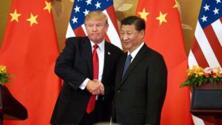 Trump y Xi.