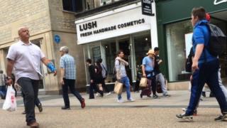 Oxford Lush store