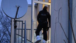 عملیات پلیس آلمان در ایالت هسن