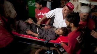 раненый в результате взрыва