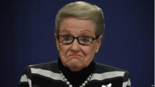 Bronwyn Bishop, who resigned as Australia's Speaker of Parliament on Sunday (file photo 28 July)
