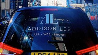 Addison Lee cab