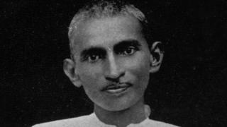 غاندي في شبابه