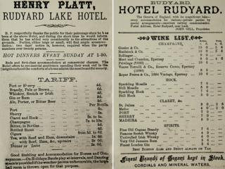 Price lists from 1870 and 1890