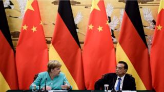 Angela Merkel and Li Keqiang