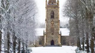 A winter wonderland at Hillsborough