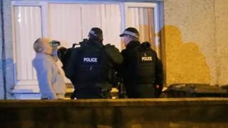 Police arrest man at Aspen Walk