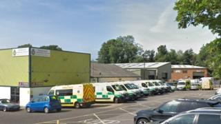 SSG UK Specialist Ambulance Service base in Fareham