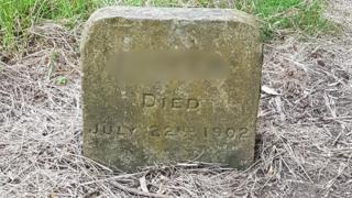 The pet grave