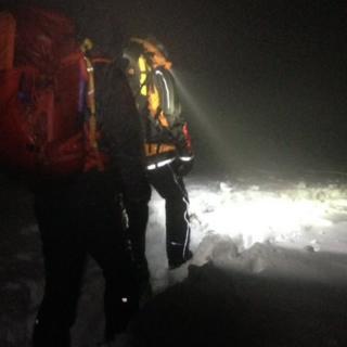 Loch Muick rescue