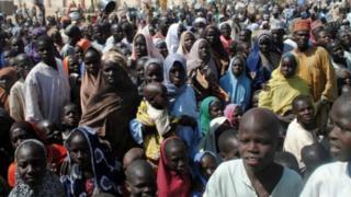 Un camp de réfugiés de Dikwa, dans l'Etat de Borno, dans le nord-est du Nigéria