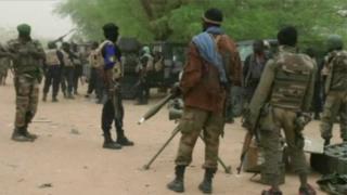 Des soldats du Mali