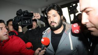 Reza Zarrab in picture from 17 December 2013