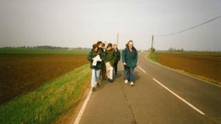 Marchers in the Fens