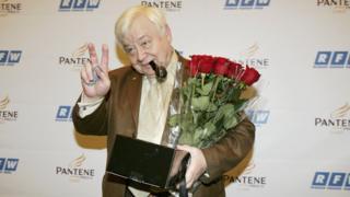Олег Табаков на Російському тижні моди 2007 року