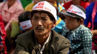 မြစ်ဆုံစီမံကိန်းကန့်ကွက်သူများ