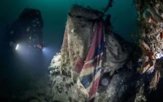 Wreck of HMS Vanguard
