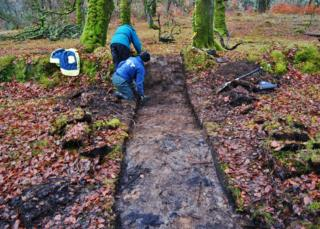 Excavations at Banquo's Walk near Fort William