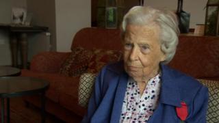 Fanny Hugill, WW2 veteran