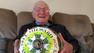 Bill Millward and this year's Shrovetide ball