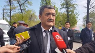 Bishkek mayor Albek Ibraimov