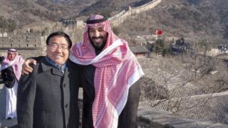 امحمد بن سلمان له چینایانو سره بیجینګ ته د سعودي ښوونکو د استولو هوکړه کړې چې چینايي ژبه زدکړي.