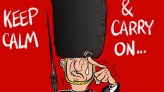 倫敦恐襲:民眾「獻沙發」 寫妙語 斗恐怖