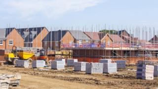 house building site