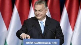 (캡션) 헝가리의 오르반 총리