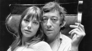 Jane Birkin e Serge Gainsbourg em 1969