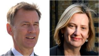 Jeremy Hunt and Amber Rudd