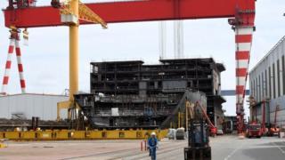 St-Nazaire shipyard