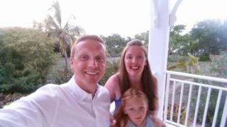 Martin McCreadie with his family