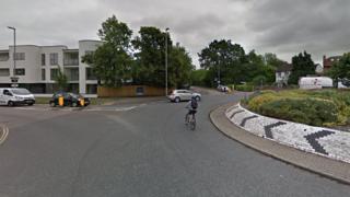 Junction of Fendon Road and Queen Edith's way in Cambridge