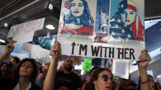 Protes Trump